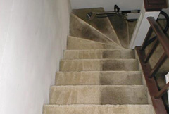 carpet stairs clean 1